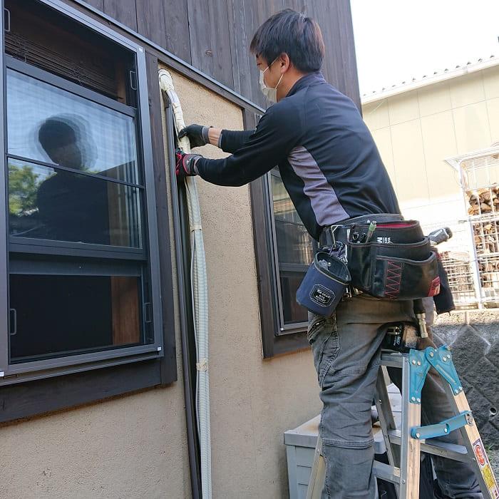 エアコン修理の職人