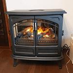 電気暖炉工事