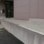 コンクリート擁壁掃除~高圧洗浄機~