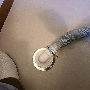 洗濯機排水トラップ取付